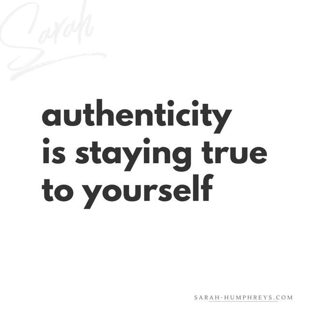 Authentic quote